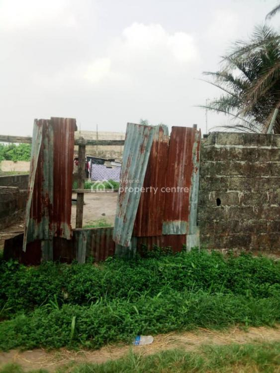 Dry Land with Dwarf Fence, Silverland Estate, Sangotedo, Ajah, Lagos, Mixed-use Land for Sale