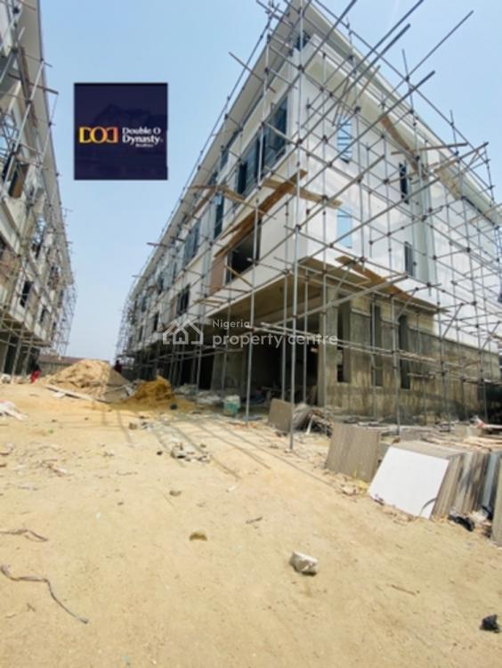 Modern 4 Bedroom Terraced Duplex with Bq, Ikate, Lekki, Lagos, Terraced Duplex for Sale