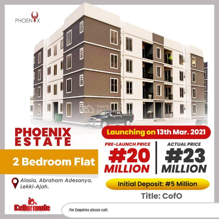 Luxury 2 Bedroom Apartment with Excellent Facilities(off Plan), Abraham Adesanya, Ogombo, Ajah, Lagos, Block of Flats for Sale