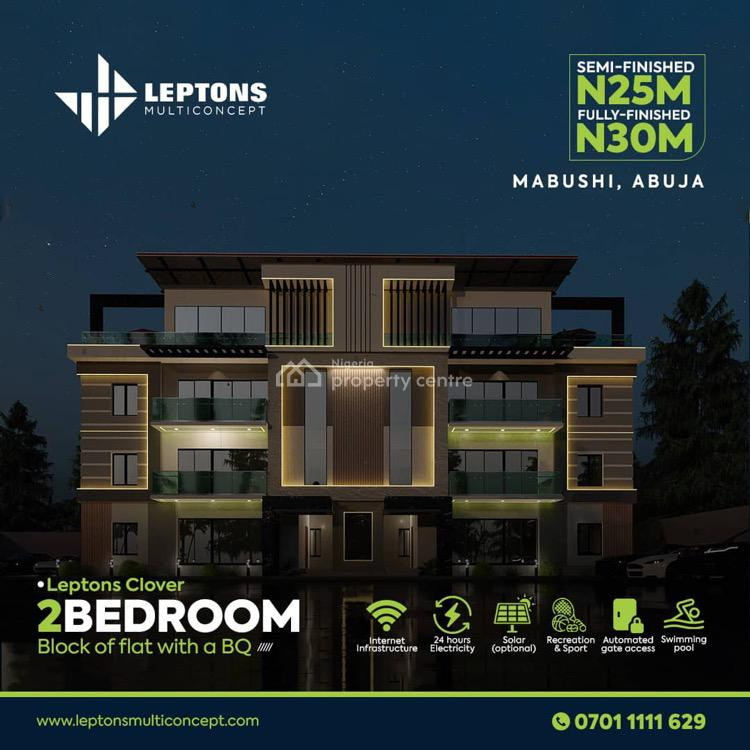 Bespoke Fully Automated Smart Home, Banex Off Capital Hub, Wuse, Abuja, Block of Flats for Sale