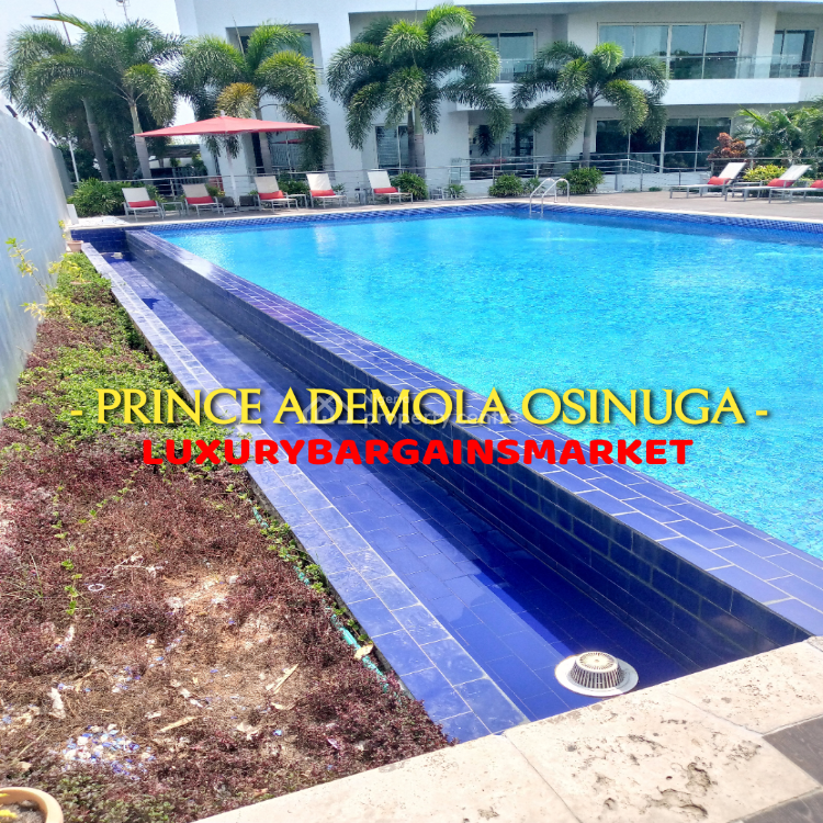 Wow Deal! Most Luxurious Waterfront 3 Bedroom + Study., Banana Island Estate, Ikoyi, Lagos, Flat / Apartment for Rent