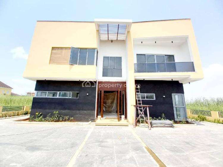 Brand New 5 Bedrooms Detached Duplex Within a Secured Estate, Northern Foreshore, Chevron, Lekki Expressway, Lekki, Lagos, Detached Duplex for Sale