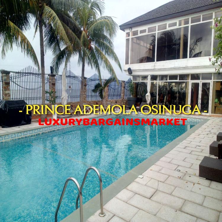 Expatraite Preferable -serviced Waterfront 4 Bed Semi-detached +jetty, Osborne, Ikoyi, Lagos, Semi-detached Duplex for Rent