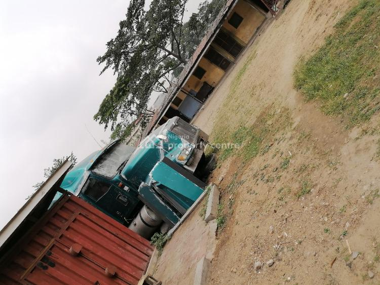 1000 Sqm of Land for Jv in a Nice Estate, G. R. a Extension, Ikeja, Lagos, Mixed-use Land Joint Venture
