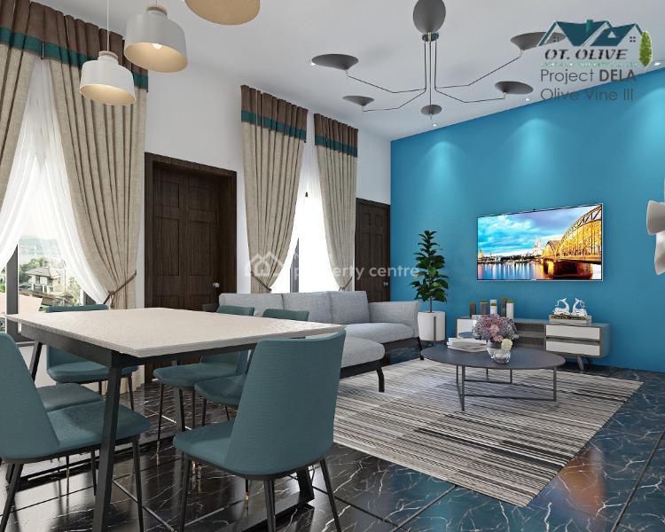 Off Plan of Luxury 3 Bedroom Flat, Aladelola Street, Ikosi, Ketu, Lagos, Flat / Apartment for Sale