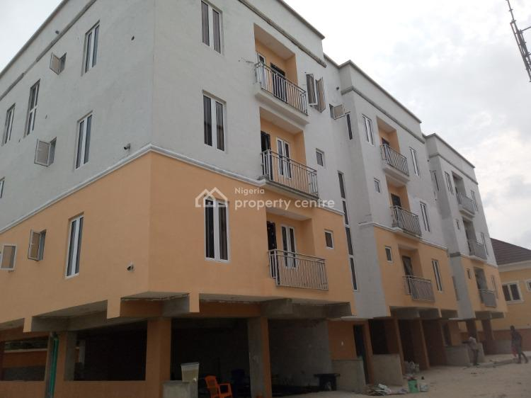 Newly Built Serviced 3 Bedrooms Apartment with Great Space, a Big Bq., 2nd Tollgate, Lekki, Lagos, Flat / Apartment for Rent