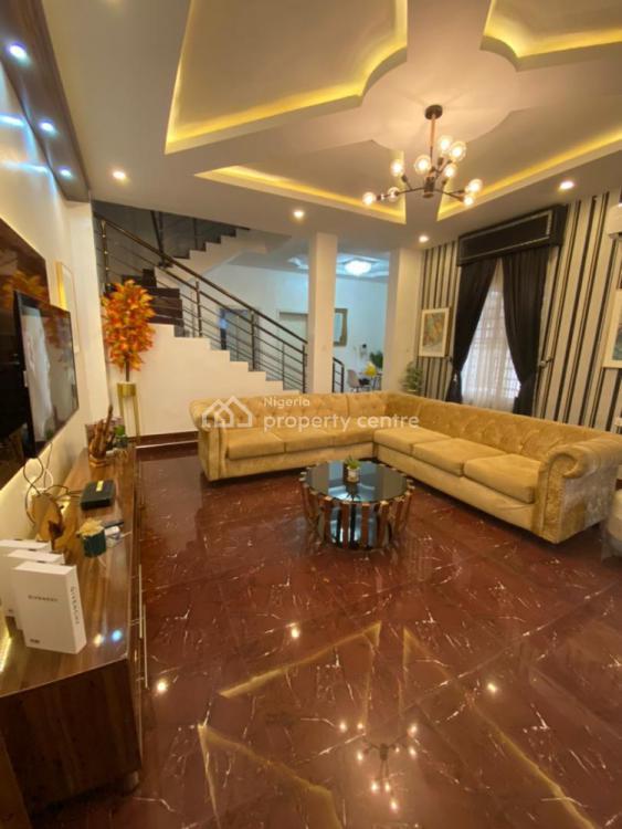 Furnished 4 Bedroom Duplex, Osapa, Lekki, Lagos, Semi-detached Duplex Short Let