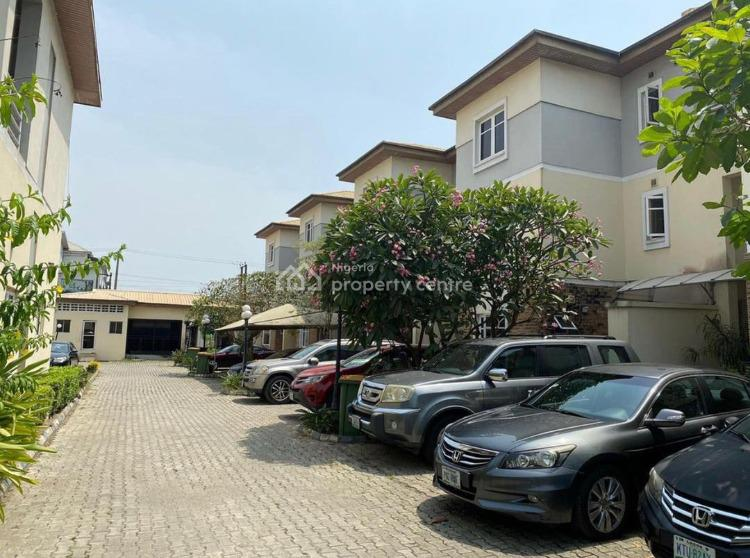 Nicely Built 4 Bedrooms Terraced House with 2 Living Rooms, 1 Bq,, Oniru, Victoria Island (vi), Lagos, Terraced Duplex for Sale