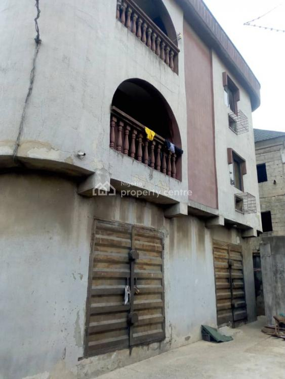 Solid Block of 5 Flats with Ground Floor Warehouse, Off Ladipo Road, Mushin - Isolo Road, Papa Ajao, Mushin, Lagos, Block of Flats for Sale