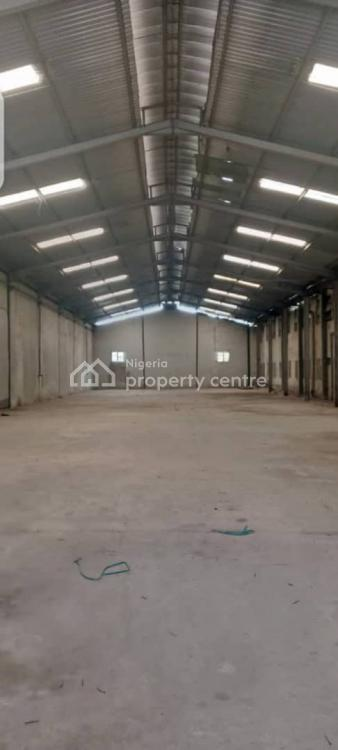 Nice and High Roofed 20,;160 Industrial Warehouse, on Abimbola Way, Isolo, Lagos, Warehouse for Rent