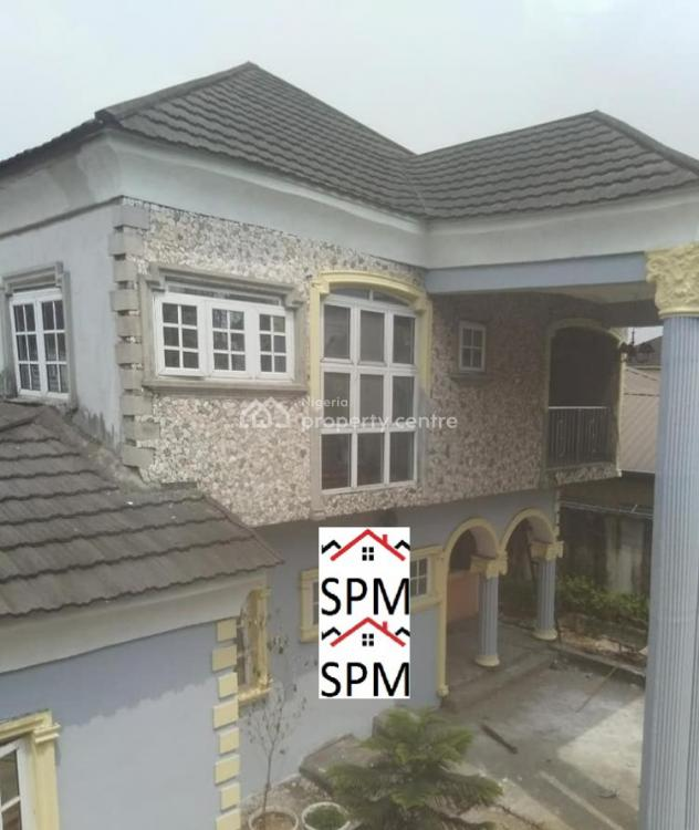 Finished (7) Bedroom Detached Duplex /24hrs Federal Light, Rukpakulisi New Layout Behind Gyniscop Hospital,old Aba Road, Port Harcourt, Rivers, Detached Duplex for Rent