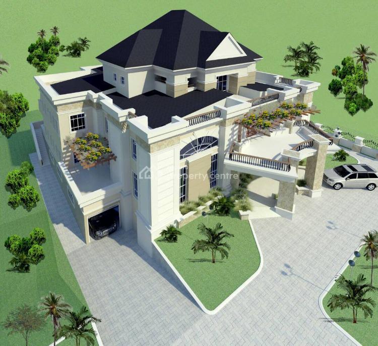 Ambassadorial Mansion on 2000sqm with Basement, Hamza Abdullahi Street, Asokoro District, Abuja, Detached Duplex for Sale