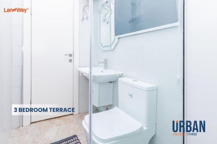 Luxury Built 3 Bedroom Terrace Duplex., Urban Prime Three Along Abraham Adesanya., Ajah, Lagos, Terraced Duplex for Sale
