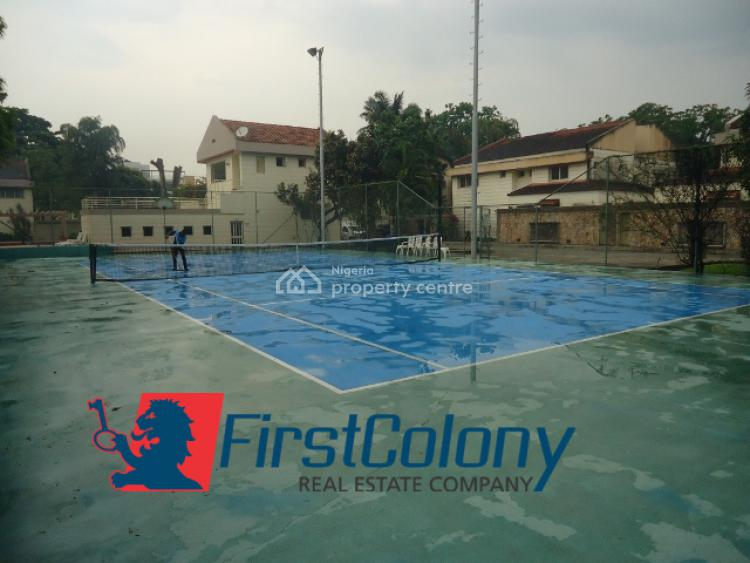 5 Bedroom Duplex with Excellent Facilities and Lawn Tennis Court, Old Ikoyi ; Off Bourdillon Road, Ikoyi, Lagos, Semi-detached Duplex for Rent