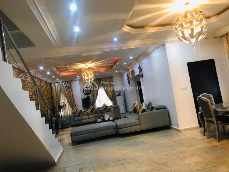 3 Bedroom Detached Duplex with State of The State Finishing, Osapa, Lekki, Lagos, Detached Duplex Short Let