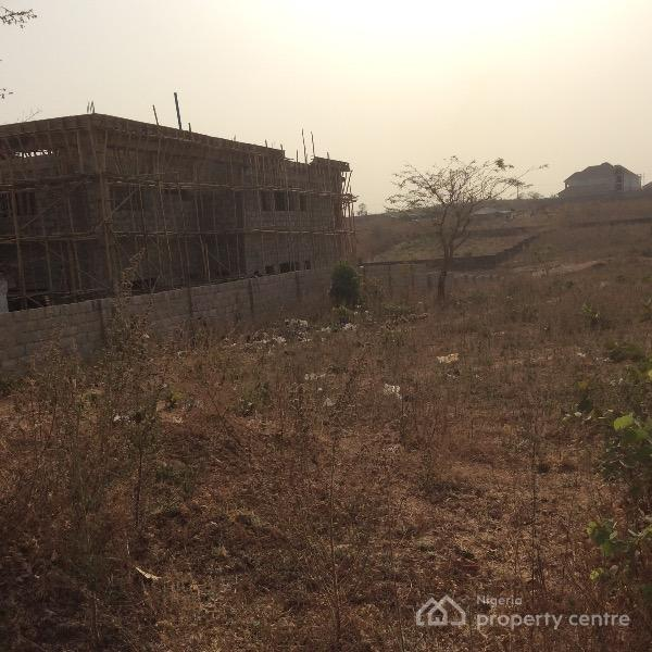 Buildable 1200sqm R of O Land, By National Assembly Quarters, Dape, Abuja, Residential Land for Sale