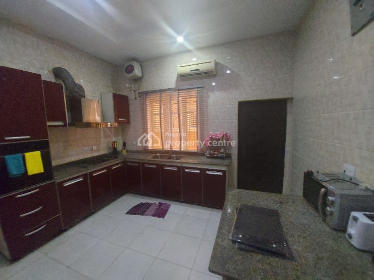 Fully Furnished & Nicely Finished Four (4) Bedroom Semi-detached House, Bera Estate, Chevron, Lekki, Lagos, Semi-detached Duplex Short Let