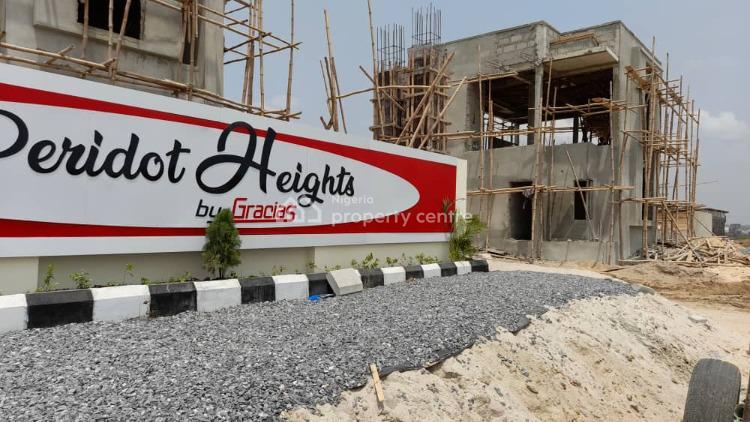 Brand New 3 Bedroom Maisonette with a Bq at Peridot Heights, Eti-osa at Peridot Heights By Gracias, Sangotedo, Ajah, Lagos, Semi-detached Duplex for Sale