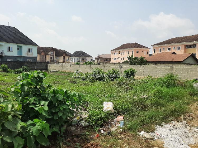 Fenced Full Plot, Novojo Estate Within Blenco Supermarket, Sangotedo, Ajah, Lagos, Residential Land for Sale
