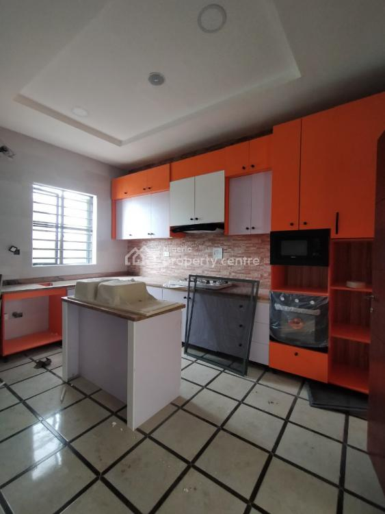 Unique 4 Bedroom with Bq, 2nd Tollgate By Orchid Road, Lafiaji, Lekki, Lagos, Terraced Duplex for Sale
