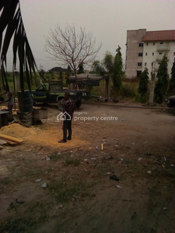 Fenced Plot of Land Facing Express, Facing Lekki Epe Expressway, Sangotedo, Ajah, Lagos, Commercial Land for Rent