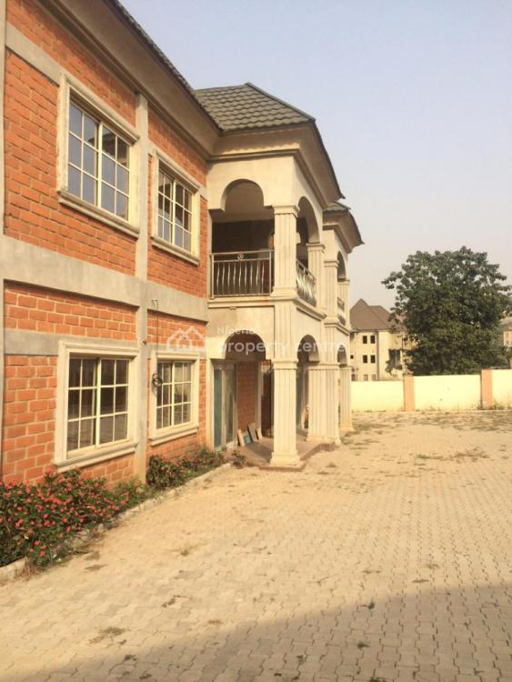 Brand New Twin 4 Bedroom Duplex and 2 Bedroom Guest Wing, Close to N. I. a. Asokoro, Guzape District, Abuja, Detached Duplex for Sale