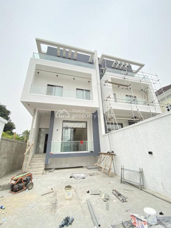 5 Bedroom Semi-detached Duplex with an En-suite Basement and a Room Bq, Ikoyi, Lagos, Semi-detached Duplex for Sale