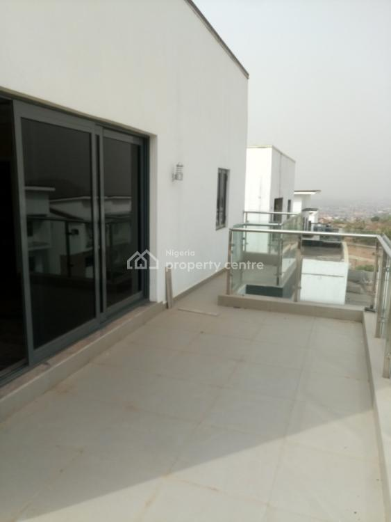 a Tastefully Finished Brand New 5 Bedroom Detached Terrace with 1 Room Bq, After Coza Church, Guzape District, Abuja, Terraced Duplex for Sale