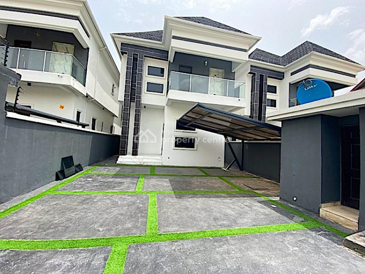 New House Spacious 5 Bedroom Fully Detached Duplex with 2 Rooms Bq, Lekki Phase 1, Lekki, Lagos, Detached Duplex for Sale