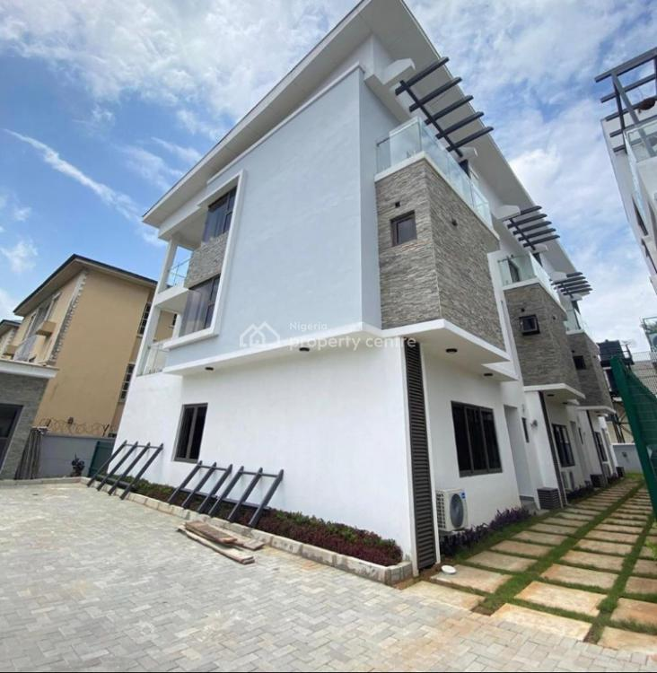 New 4 Bedroom Terrace, Osborne Foreshore 1, Osborne, Ikoyi, Lagos, Terraced Duplex for Sale