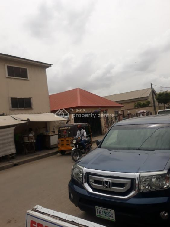 Commercial Block of 6 Flats of 3 Bedrooms & Warehouse on Interlocked Road, Off Ago Palace Expressway, Isolo, Lagos, Block of Flats for Sale