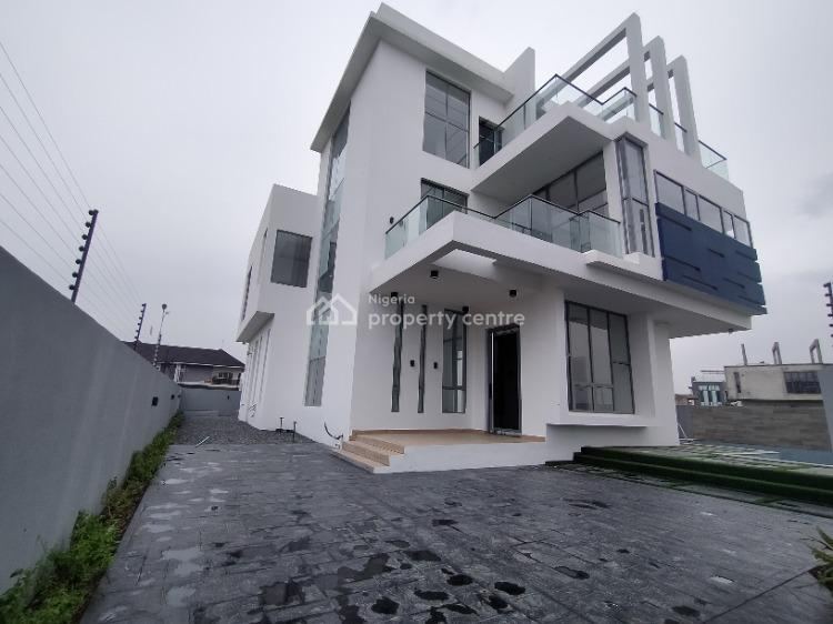 Waterview 5 Bedroom with Bq and Swimming Pool, Pinnock Estate, Osapa, Lekki, Lagos, Detached Duplex for Sale