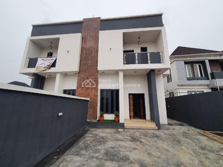 Brand New, Exquisite 4 Bedroom Semi-detached Duplex with Boys Quarter, Lekki, Lagos, Semi-detached Duplex for Sale