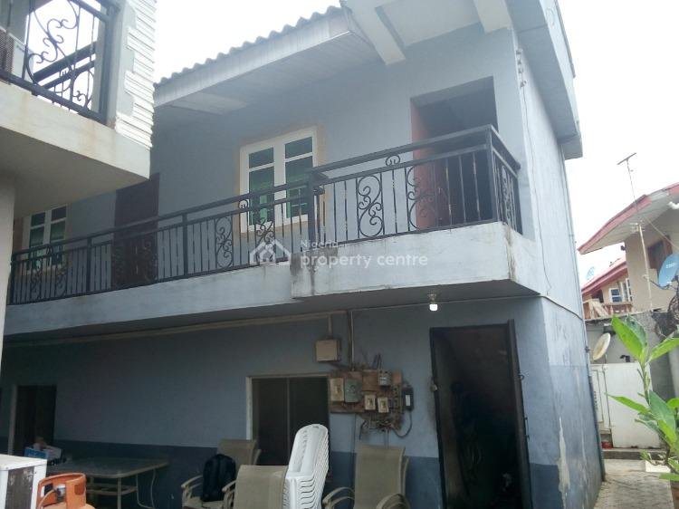 5 Bedroom Detached Duplex with 2 Units of 2 Bedroom Flats, Off Ago Palace Way, Ago Palace, Isolo, Lagos, Detached Duplex for Sale