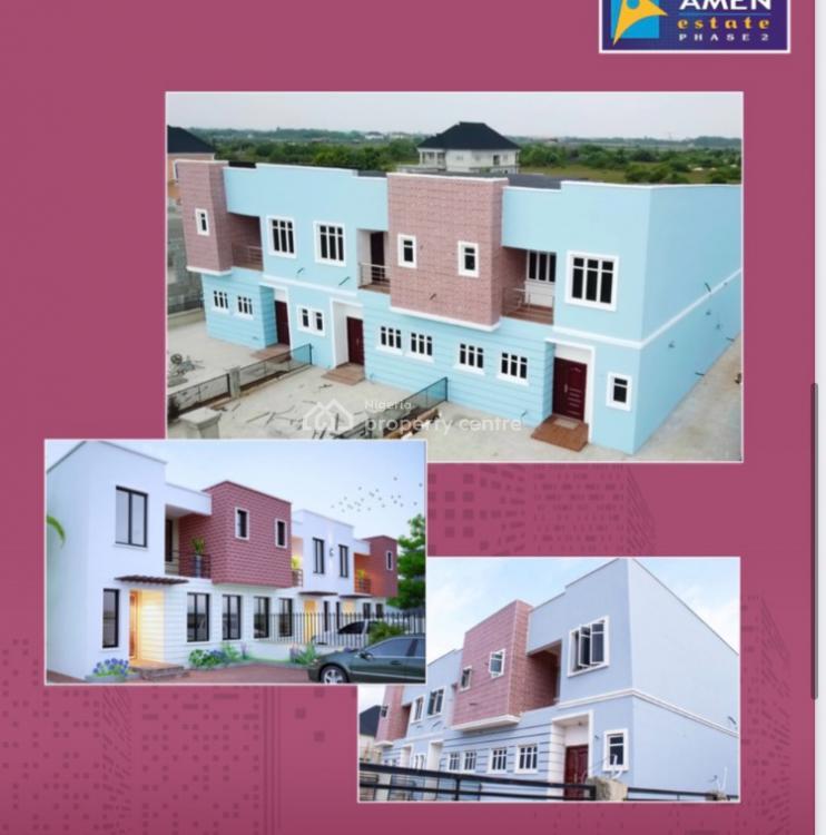 3 Bedrooom + Bq Terrace Duplex with Payment Plan, Amen Estate, Ibeju Lekki, Lagos, Terraced Duplex for Sale
