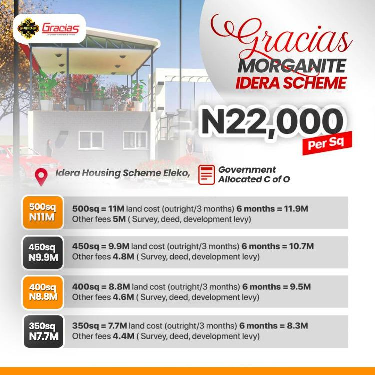 Plot of Estate Land in Very Prime, Facing The Lekki Epe Expressway - Gracias Morganite, Eleko, Ibeju Lekki, Lagos, Residential Land for Sale
