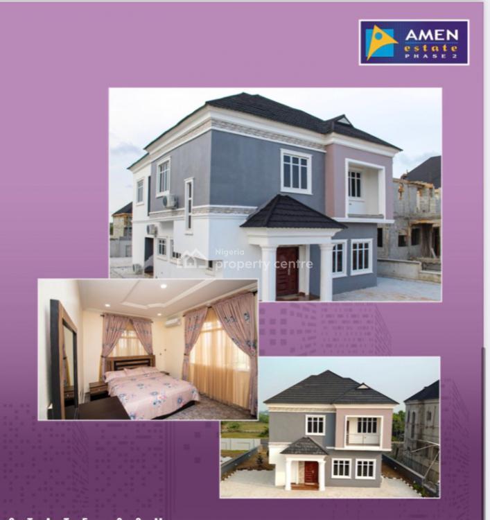 3 Bedroom + Bq Fully Serviced Stand Alone House, Amen Estate, Ibeju Lekki, Lagos, Detached Duplex for Sale
