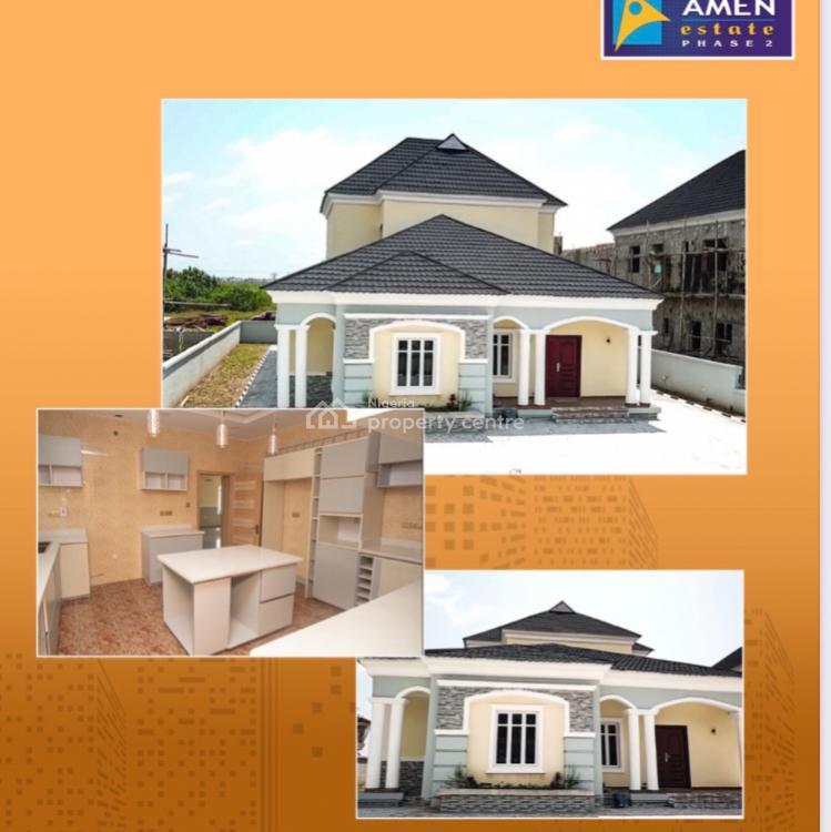 4 Bedroom + Bq Fully Serviced Stand Alone Duplex, Amen Estate, Ibeju Lekki, Lagos, Detached Duplex for Sale