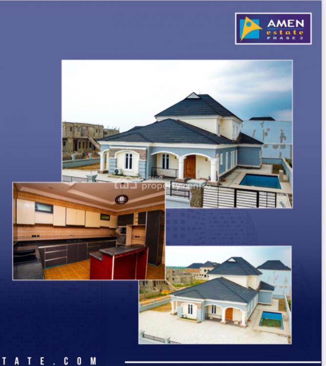 5 Bedroom + Bq Fully Serviced Standalone Villa with Payment Plan, Amen Estate, Ibeju Lekki, Lagos, Detached Duplex for Sale