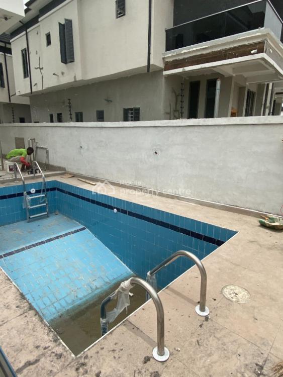 Newly Built 5 Bedroom Detached Duplex with B. Q, Chevron, Lekki, Lagos, Detached Duplex for Sale