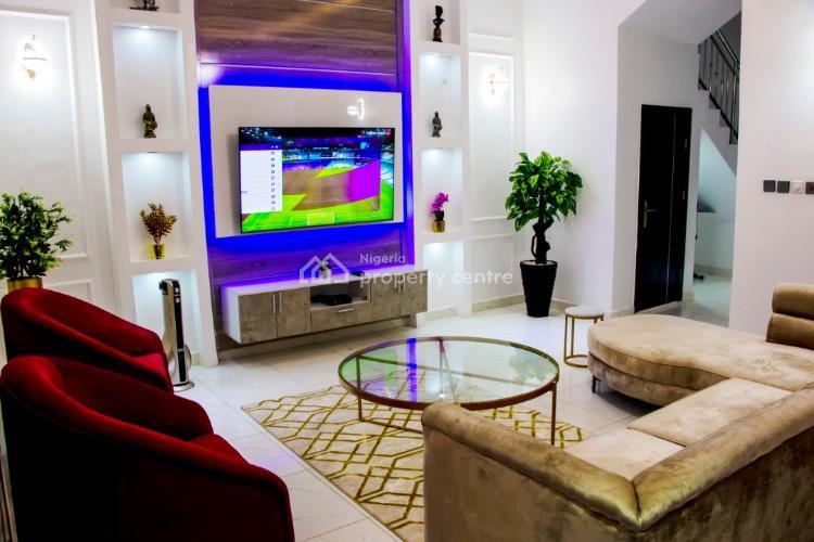 Luxury 4 Bedrooms Semi Detached Duplex, Ikate, Lekki, Lagos, Semi-detached Duplex Short Let