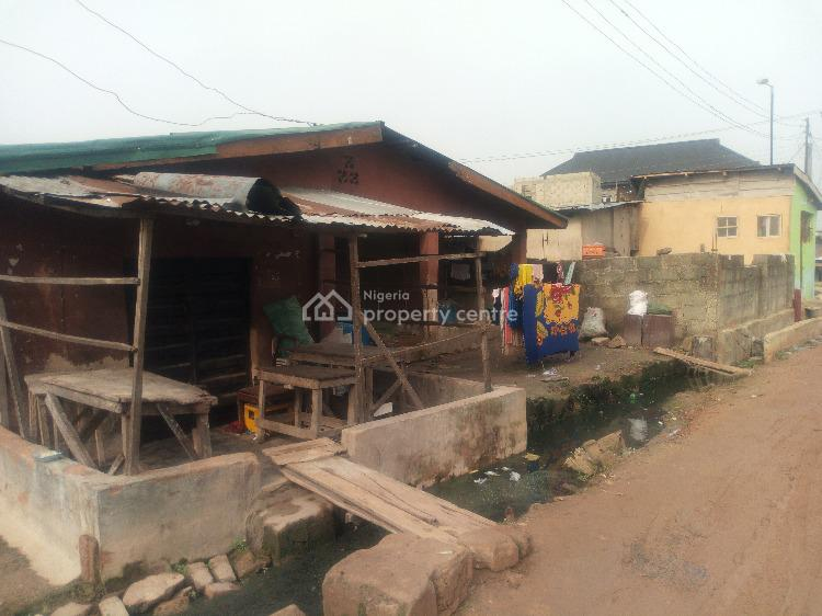 Demolisheable Bungalow on ½plot of Land in a Developing Mini Estate, Off Owolabi Street, Alapere, Ketu, Lagos, Residential Land for Sale