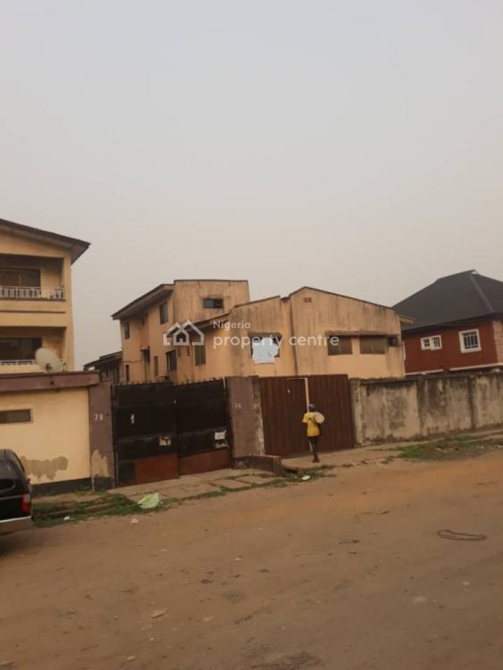 Standard 5 Bedroom Duplex with 2 Flat of 3 Bedroom Each in a Secured Area, Grandmate Bustop, Ago Palace, Isolo, Lagos, Detached Duplex for Sale