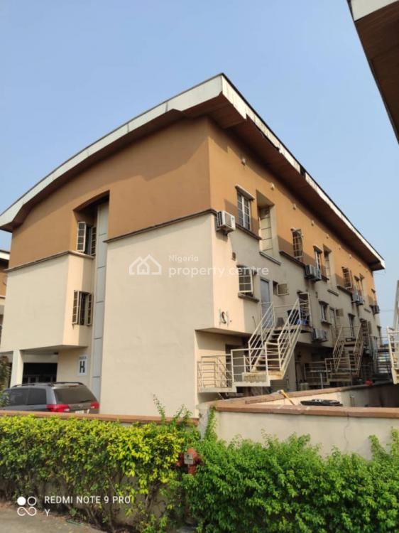 4 Bedroom Terrace House + 2 Bedroom Attached Bq in an Estate, Mutual Alpha Court Estate, Surulere, Lagos, Terraced Duplex for Sale