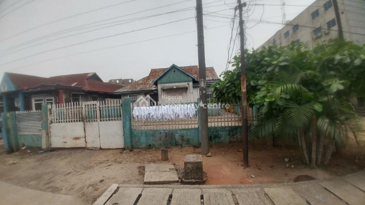 a Nicely Located Plot of Land with a Bungalow on It, Muritala Mohammed Way, Alagomeji, Yaba, Lagos, Mixed-use Land for Sale