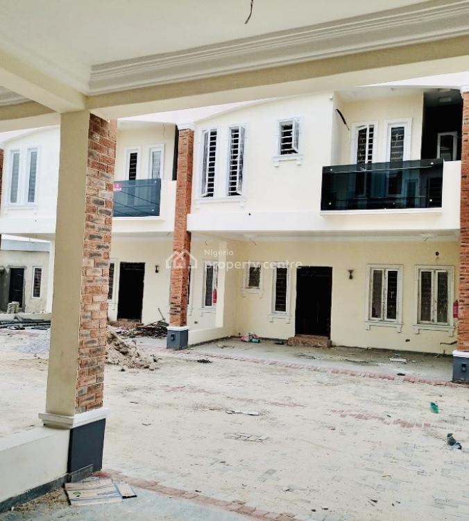 4 Bedrooms Terraced Duplex (great Layout + Awesome Finishing), Lbs, Sangotedo, Ajah, Lagos, House for Sale