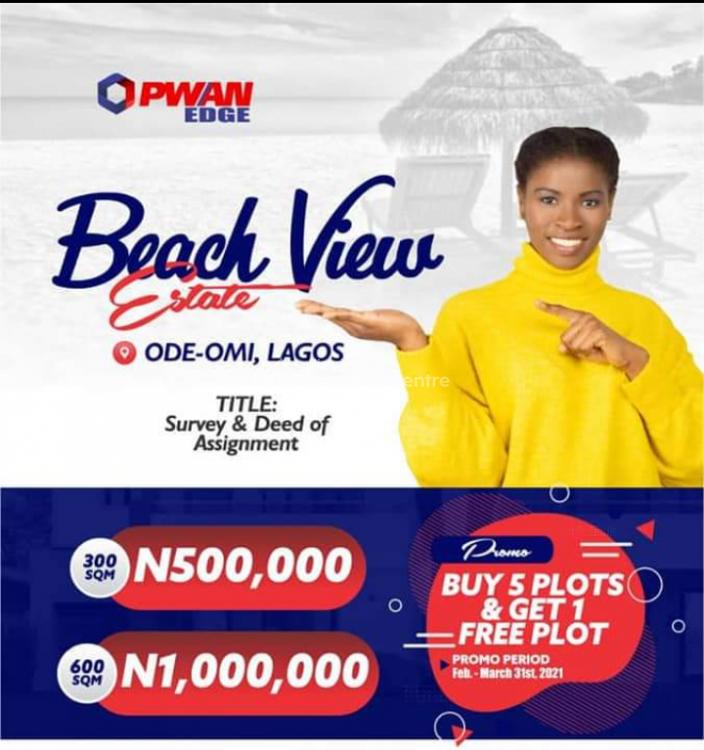 Land, Beach View Estate, Ode Omi Village, Ibeju Lekki, Lagos, Residential Land for Sale