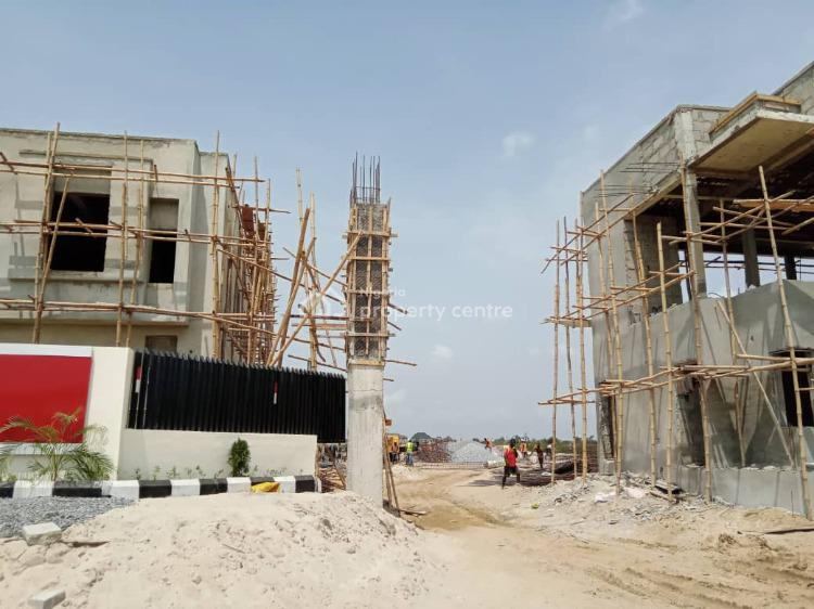 3 Bedroom Maisonette with Bq in Good Location, Peridot Heights, Near Novare Shoprite, Sangotedo, Ajah, Lagos, Block of Flats for Sale