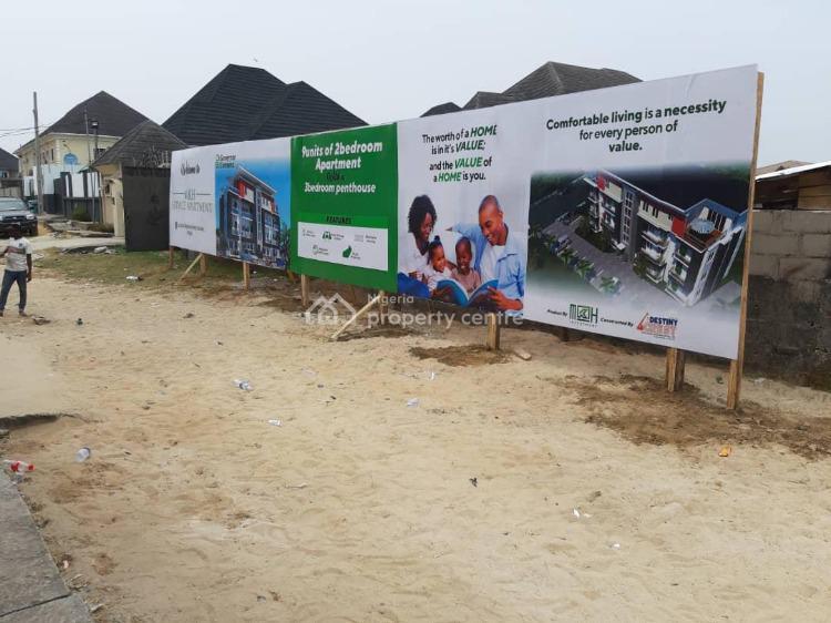 3 Bedroom Pent House, M K H Service Apartment, Abijo, Lekki, Lagos, Block of Flats for Sale
