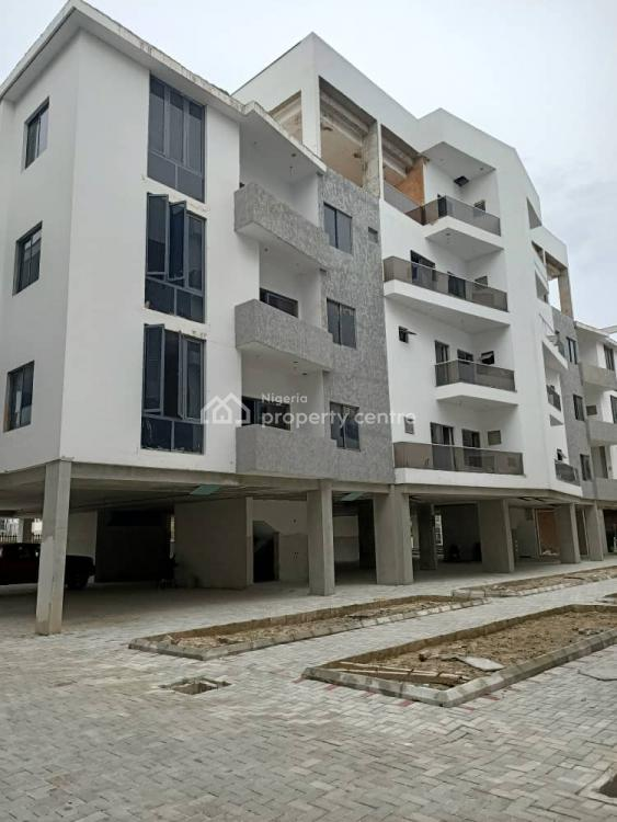 Carcass 4 Bedroom Massionette Duplex, Ikate Elegushi, Lekki, Lagos, House for Sale